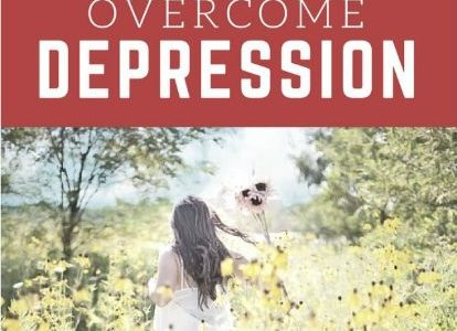 Encouraging you to overcome depression on near a river.