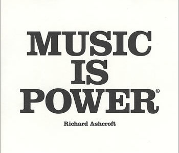 Encouraging you to enjoy the benefits of music on near a river.