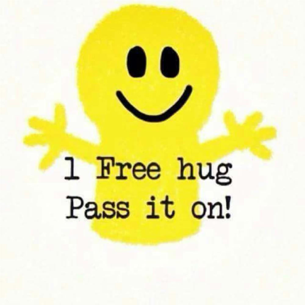 I Free hug, Pass it on