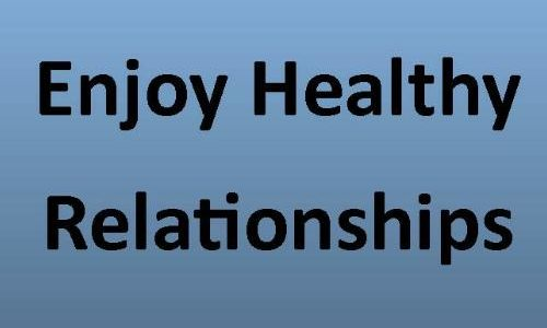 Enjoy healthy relationships on near a river.