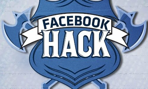 Encouraging you to protect you Facebook account on near a river.
