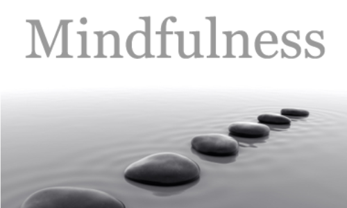 Encouraging you to practice mindfulness on near a river.