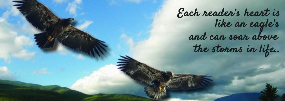 "When a storm is coming, all other birds seek shelter. The eagle alone avoids the storm by flying above it. So, in the storms of life may your heart be like an eagle's and soar above."" – Author Unknown"