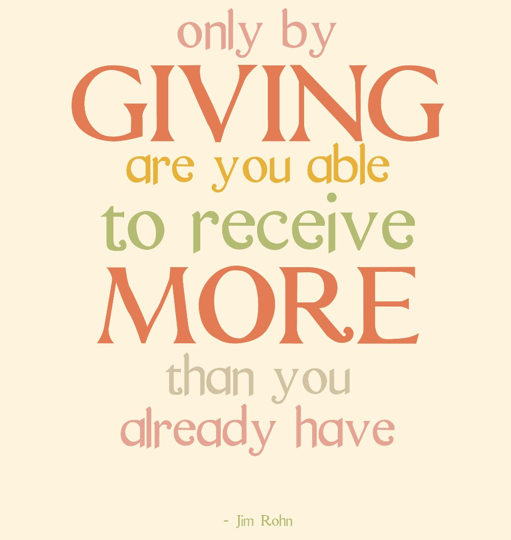 investing in giving