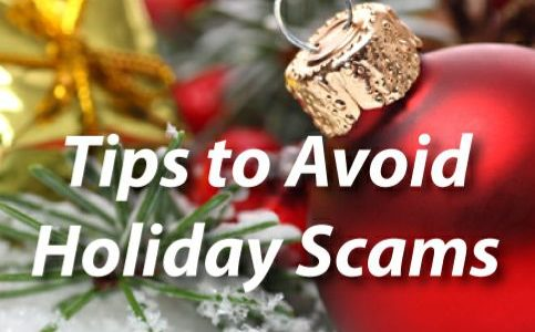 Encouraging you to be aware of holiday scammers on Near a River.