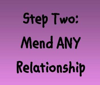 Encouraging you to mend ANY relationship (Stop proving you are right) on Near a River.