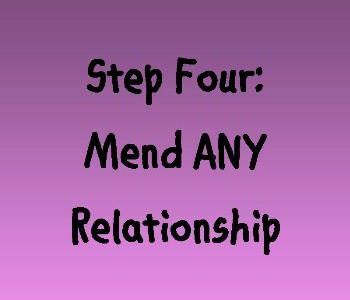 Encouraging you to mend ANY relationship with these four steps on Near a River.