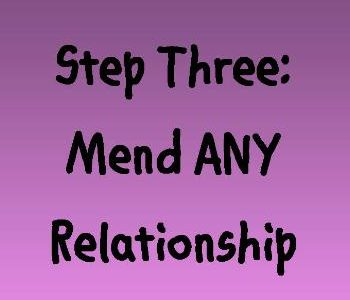 Encouraging you to mend ANY relationship by setting healthy boundaries on Near a River.