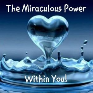 Encouraging you to harness the miraculous power within you on near a river.